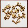 Arabescos Mdf Arvores,flores,folhas,artesanato 15 Á 90 Cm