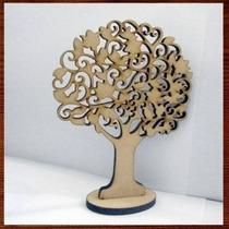 Árvore Mdf Provençal Mesa Decorativo De Mesa 60cm - Grande