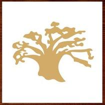 Árvore Mdf Provençal Enfeite Decorativo De Mesa 30 Cm