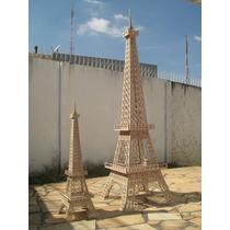 Torre Eiffel Mdf 6mm 2,30m - 3d Para Montar