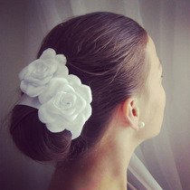 Flor De Cabelo Para Noivas / Casamento / Arranjo / Tiara
