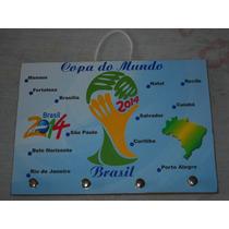 Porta Chave Copa Do Mundo Personalizado Lindo!!!
