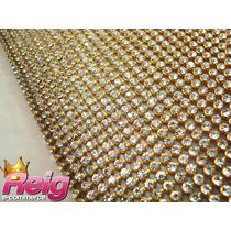 Manta De Strass 1,20 X 45 Excelente Qualidade Alto Brilho