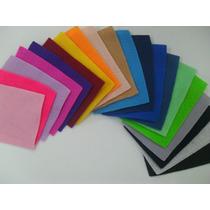 Feltro Colorido Para Artesanato - 1,40 X 0,50 M