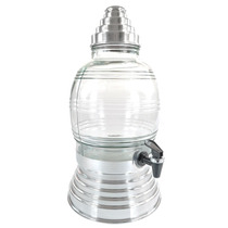 Suqueira/refresqueira 5.4 Litros- Vidro E Metal-13 Cores