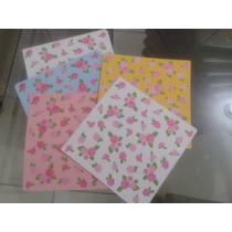 100 Folhas: Papel Estampado Para Origami - 15cm X 15cm