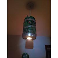 Luminária De Teto Barril De Cerveja Heineken 5lt