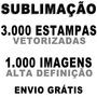 Estampas Sublimação Artes Imagens Camisas Vetores Corel