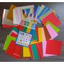 300 Folhas: Papel Japonês Para Origami - 7,5cm X 7,5cm