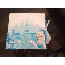 Convite Frozen Personalizado