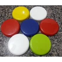 Kit P Artesanato Tampa Pote /vidro De Palmito C 150 110mm