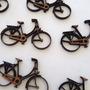 Aplique Bicicleta Em Mdf