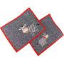 Jogo Americano De Patch Aplique Quiltado Vaquinhas A179