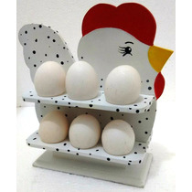 Suporte Para Ovos Em Artesanato