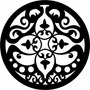 Mandala Mdf Decorativa Quadro Escultura Parede Recorte 15cm