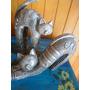 Dupla De Gatos Em Cerâmica - Pintura À Mão