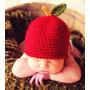 Toucas De Maça Em Crochê - Newborn Fotografia De Bebês Props
