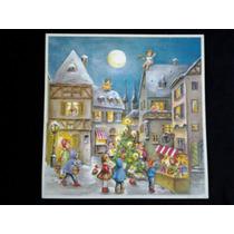 Enfeite Natal Advento Alemão Calendário Natalino Frete Grat