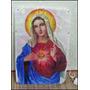 Oferta ! Quadro Luminoso Sagrado Coração De Maria Grande!