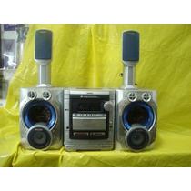 Micro-system Aiwa Nsx-sz-809 C/ 4 Cx.acust. Semi-novo-baixei