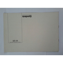 Manual Original Amplificador Gradiente Model 126