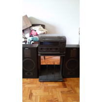 Radio Gradiente Double Cassette Music System Ms-188 + Mesa