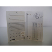 Dcc Digital Casstte Etiqueta Auto Adesiva Philis (pack C/10)