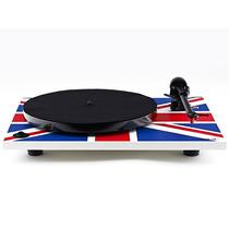 Toca-discos De Vinyl Rega Rp1 Union Flag Performance Pack