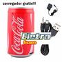 Caixa De Som Latinha Orig Coca-cola Usb Pen Drive Mp3 Cartão