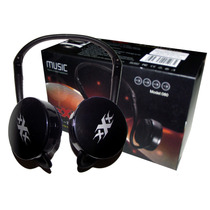 Digital Wireless Headphone Radio Fm Mp3 Bateria Recarregavel