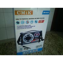 Caixa De Som Cmik Usb/portátil Sistema De Mini Coluna Mkb10.