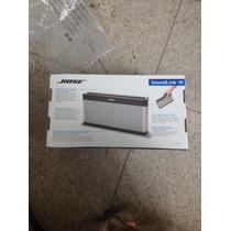 Bose Soundlink 3, Bluetooth Com Bateria De 14 Horas, Novo.