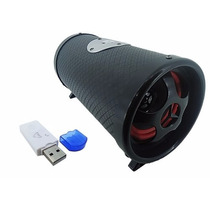 Caixa Som Amplificada Bluetooth Bazooca Selada Usb Mp3 Fm Sd