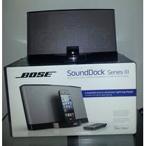 Bose Sounddock 3 Iii - Comprado Nos Eua - Novo, Na Caixa