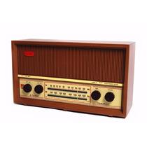 Rádio Antigo Caixa De Madeira Como Velhos Semp 2 Faixas Amfm