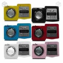 Caixinha De Son - Mini Caixa De Som Portátil Radio
