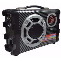 Micro System Caixa De Som Amplicada Rca Mp3 Usb A Mais Forte