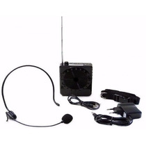 Kit Aula Professor Voz Microfone Megafone Amplificador