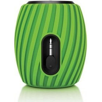 Mini Caixa De Som Speaker Philips Sba-3011 Usb - Verde