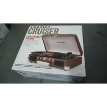 Toca Disco Lp Vinil Portátil Crosley Cruiser