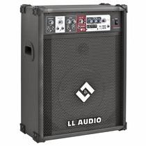 Caixa Amplificada Ll Ll400 Usb Cubo Guitarra Violão Mic 100w