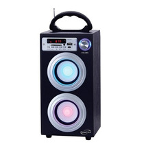 Caixa De Som Bluetooth C/ Bateria Torre Bluetooth Sp106 30w
