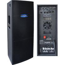 Caixa Ativa Thunder Soundbox 12 600w Rms Biamplificada