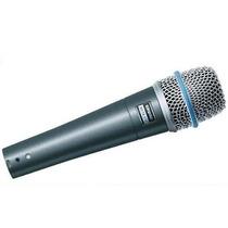 Shure Beta 57a Microfone Dinâmico Supercardióide Original