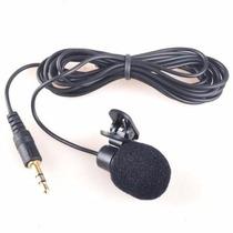 Microfone Lapela P/ Pc Notebook Laptop. Espuma Frete R$ 6