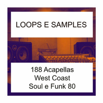 Loops E Samples West Coast Soul Funk 80 E 188 Acapellas
