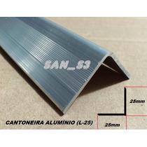 Ferragens P/ Case Cantoneira Alumínio C/ Abas 25mm
