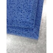 Espuma Acustica Azul , Para Estudio Placa Lisa Tipo Esponja