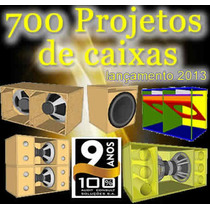700projetos De Caixas De Som - Line - Tree Way - Amplificada