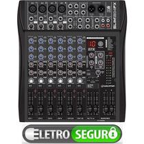 Mesa De Som 12 Canais Com Efeitos Bi-volt, Digital Ultrafina